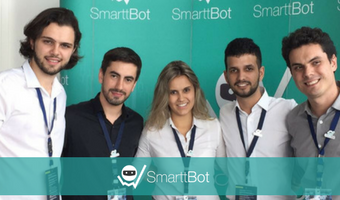 SmarttBot marca presença no Invest Day Santos